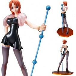 One Piece - P.O.P. (Portrait Of Pirates) - Nami Strong World Edition