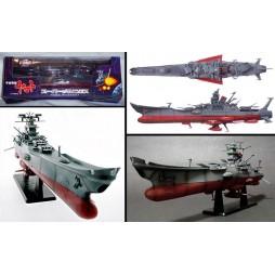 Cosmo Fleet Space Battleship Yamato - Super Mechanics - Taito - 1:665 scale - 40 cm - Space Battleship Yamato