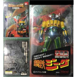 Kotetsu Jeeg - Jeeg Robot D\'Acciaio - Comics N. 2 - Marmit Mini Metal 10cm - Normal Color Ver.