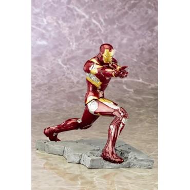 Iron Man - Civil War Movie - Kotobukiya ArtFX+ 1/10 scale Statue - Pro Painted Model - Iron Man