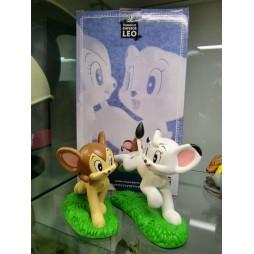 Kimba Il Leone Bianco (Jungle Emperor) - Osamu Tezuka - Statua Diorama - Limited Edition - Gianfranco Grieco - Kimba e L