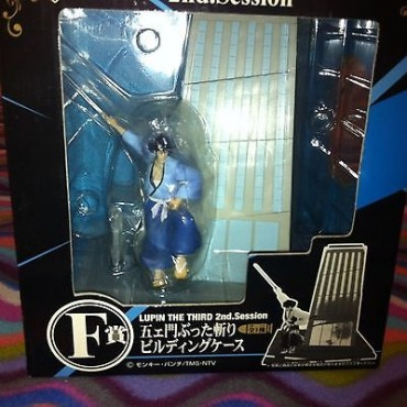 Lupin The 3rd - Lupin III - Ichiban Kuji DX Statue Lot F - 2nd Session - Goemon Ishikawa Skyscraper Cut Diorama