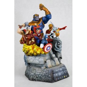 Marvel Comics - The Avengers - Kotobukiya Fine Arts Statue - The Infinity Gauntlet