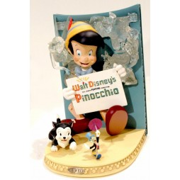 Pinocchio - 3D Marquee - Walt Disney Showcase Collection - Master Replica