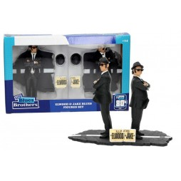 The Blues Brothers - The Movie - Sd Toys 1/10 scale Figure Set/Diorama - Elwood and Jake Blues