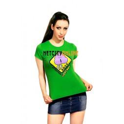 Dr Slump & Arale Chan Verde - Cacchina Arale - T-shirt donna LARGE