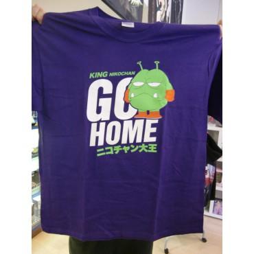 Dr. Slump & Arale Chan - King Nikochan Go Home - T-Shirt - EXTRA LARGE