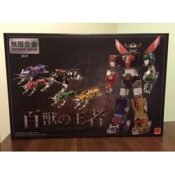 Lion Force Voltron - King Of Beasts Golion - Infinity Gokin 01 - Mad Toys