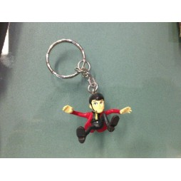 Lupin The 3rd - Lupin III - Keyring 3D - Lupin 2nd Season Keyholder Pvc