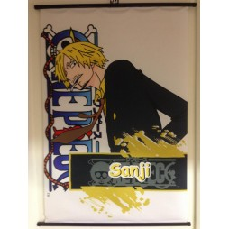 One Piece - Poster - Wall Scroll in Stoffa - Sanji
