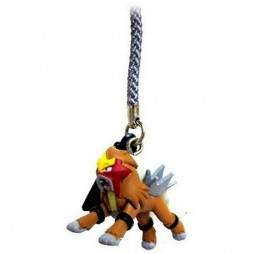 Pokemon - S & G nr.244 - Strap - Swing 3D Phone Charm and Strap - Entei