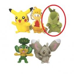 Pokemon Portachiavi Peluche SET - Axew