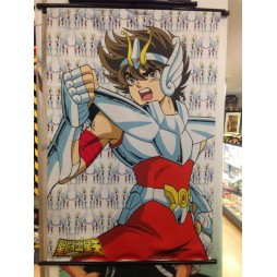 Saint Seiya - Next Dimension Myth of Hades - Pegasasu no Seiya V2 - Poster - Wall Scroll in Stoffa