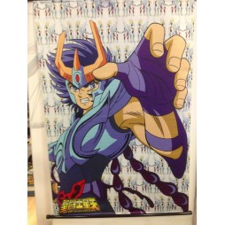 Saint Seiya - Next Dimension Myth of Hades - Phoenix Ikki - Poster - Wall Scroll in Stoffa