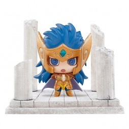 Saint Seiya - Petit Chara Land Saint Seiya Twelve Temples Vol.2 - Trading Figure SET - Aquarius Camus