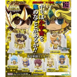 Saint Seiya - Petit Chara Land Saint Seiya Twelve Temples Vol.2 - Trading Figure SET - Complete set of 7 + 1 S.s.