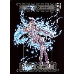 Saint Seiya - Sacred Saga - Berlier - Spectre D\'Oro - Poster - Wall Scroll in Stoffa