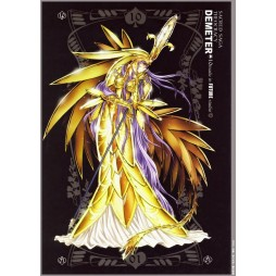 Saint Seiya - Sacred Saga - Demeter - Poster - Wall Scroll in Stoffa