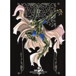 Saint Seiya - Sacred Saga - Mizar - Cavaliere di Asgard - Poster - Wall Scroll in Stoffa
