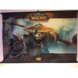 World Of Warcraft - Mists Of Pandaria Poster - Wall Scroll in Stoffa - Chen Triplo Malto