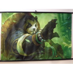 World Of Warcraft - Mists Of Pandaria Poster - Wall Scroll in Stoffa - Chen Triplo Malto Ver. 2