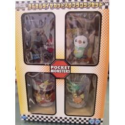 Pokemon - Pocket Monsters - SET Bicchieri Plastica - Ver. A