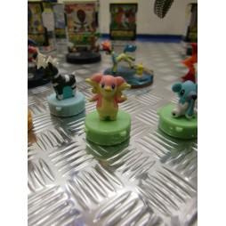 Pokemon - Stamp SET 3 - BW Audino mini Timbro