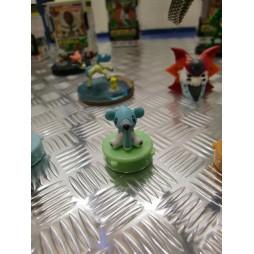 Pokemon - Stamp SET 3 - BW Cubchoo mini Timbro