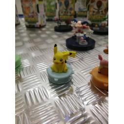 Pokemon - Stamp SET 3 - BW Pikachu mini Timbro