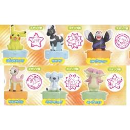 Pokemon Stamp SET 3 - BW SET Completo mini Timbri