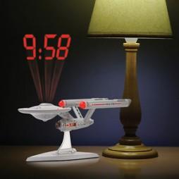 Star Trek - USS Enterprise Ncc-1702 - Projection Alarm Clock