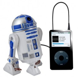 Star Wars - Ipod Speaker 3D Figure - R2-D2