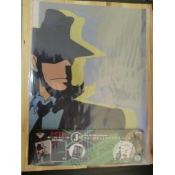 Lupin The 3rd - Lupin III - Set 2 Cartelline Per Documenti E Adesivi - Daisuke Jigen