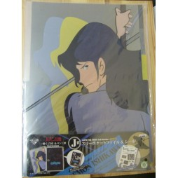 Lupin The 3rd - Lupin III - Set 2 Cartelline Per Documenti E Adesivi - Goemon Ishikawa