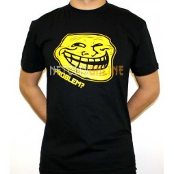 Facebook Memes - Troll Problem? Black - T-Shirt EXTRA LARGE