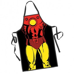 Marvel Comics - Apron - Grembiule Barbecue - Iron Man