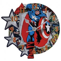 Marvel Comics - Captain America - Wall Clock - Captain America Classic