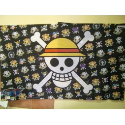 One Piece - Bandiera - Jolly Roger Luffy Thousand Sunny + Jolly Rogers Personaggi Di Tutta La Serie TV