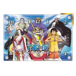 One Piece - Desktop Layer Clock - Battle Mode BOA e LUFFY