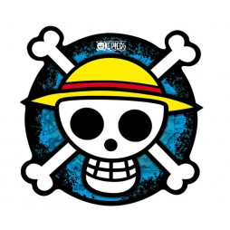 One Piece - Mousepad - Luffy Thousand Sunny Jolly Roger