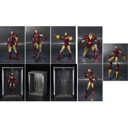 S.H. Figuarts Iron Man 2 Iron Man Mark VI + Hall Of Armor SET