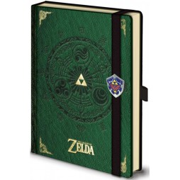 Video Games - Legend Of Zelda - Premium Notebook - Pyramid Notebook Con Elastico e Fibbia