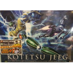 \'Uchu Gokin\' Kotetsu Jeeg and Pantheroid - DIE-CAST FULL-ACTION - Anime Color Ver.