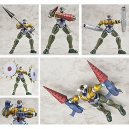 \'Uchu Gokin\' Kotetsu Jeeg and Pantheroid - DIE-CAST FULL-ACTION - METALLIC Limited Color Ver.