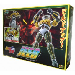 \'Uchu Gokin\' Kotetsu Jeeg and Pantheroid - DIE-CAST FULL-ACTION Metallic RESTYLING EXCLUSIVE AI&TH