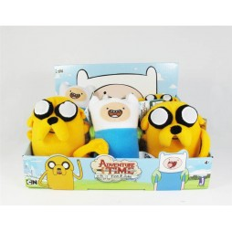 Adventure Time Plush - Finn&Jake - SET - Peluche 28 cm