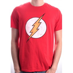 FLASH - Logo Symbol Red - T-Shirt LARGE