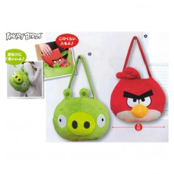 Angry Birds Plush - Peluche Bag - SET