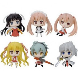 Aria The Scarlett Ammo - Keychain - Con Gancio - Mini Figures - Set - Complete Set of