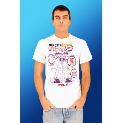 Goldrake - Ufo Robot Grendizer Bianca - T-shirt EXTRA LARGE